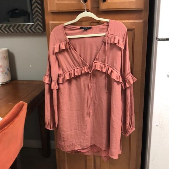Forever 21 Dresses & Skirts - Mauve flowy dress